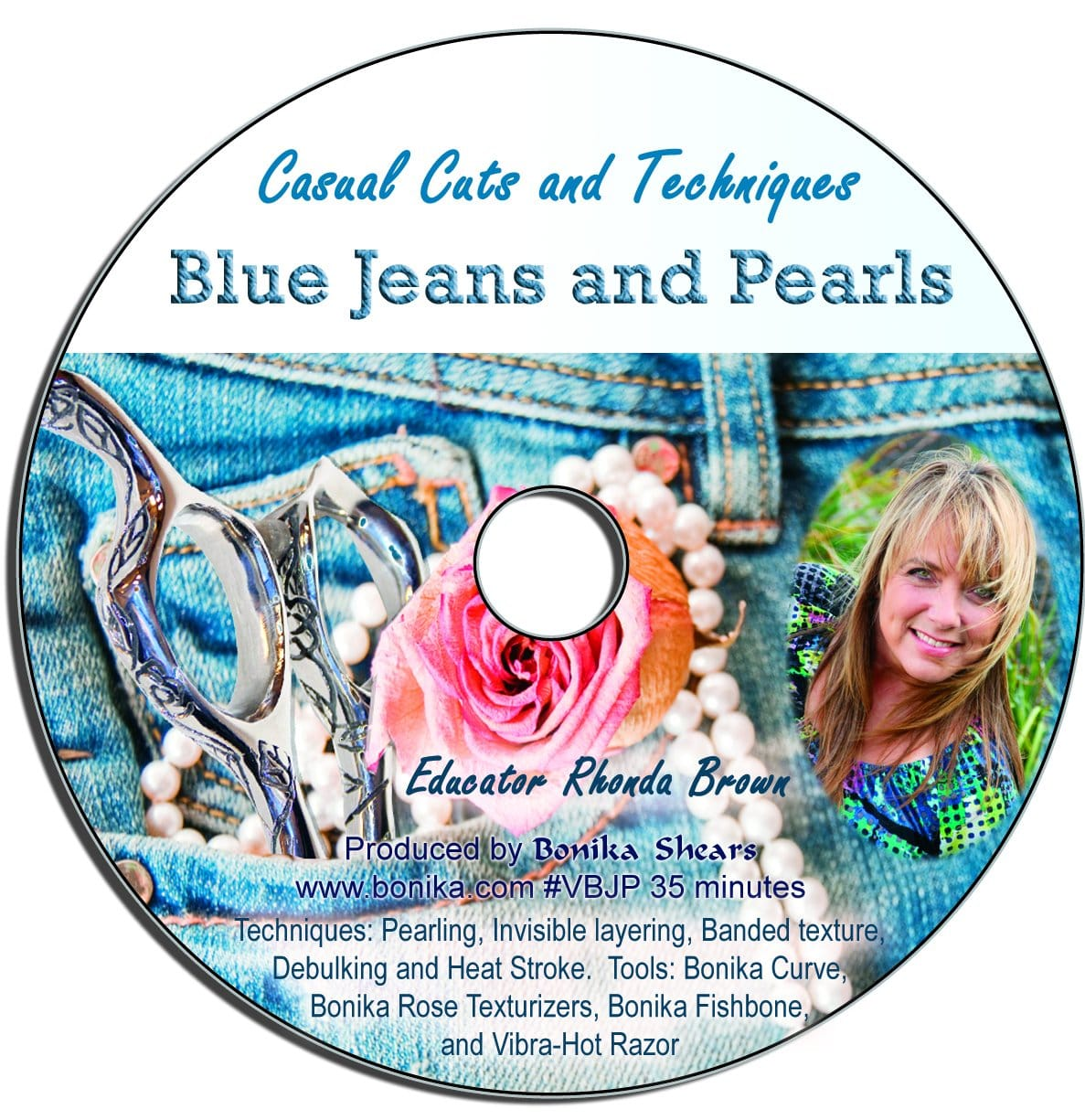 Blue Jeans and Pearls Casual Cuts Video - Bonika Shears