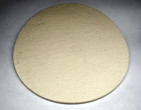 "6"" Felt Pad for Polishing - Bonika Shears"