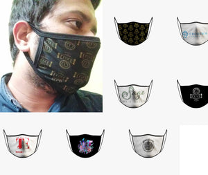 YOUR LOGO Face Mask - Minimum of 10