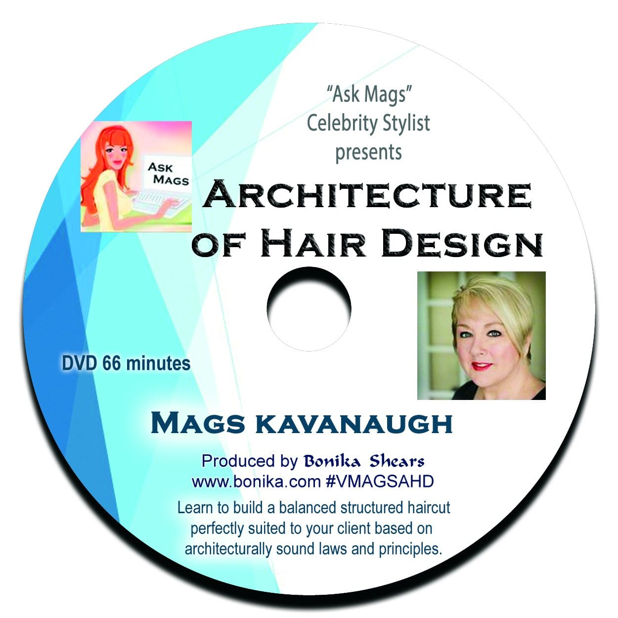 Architecture of Hair Design video with Mags Kavanaugh - Bonika Shears