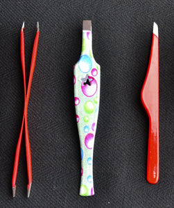 Tweezers - 3 pack assorted - closeout - Bonika Shears