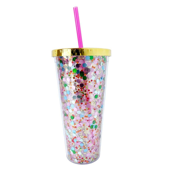 Packed Party Spiced Girl Confetti Tumbler