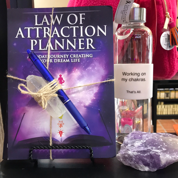Law of Attraction Planner w/ FriXion Pen