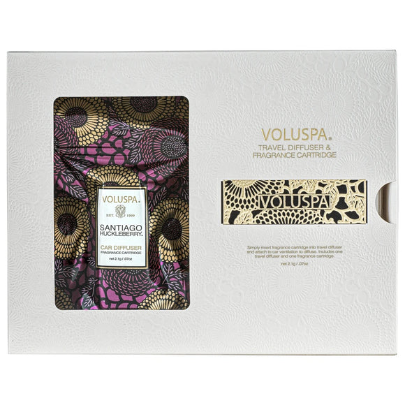 Voluspa- Santiago Huckleberry Car Diffuser