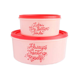 Always Treating Myself Food Storage Containers Set!