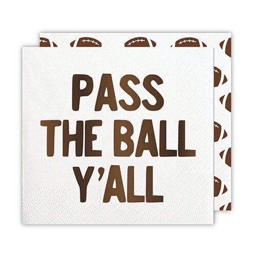 Game Day Party Napkins