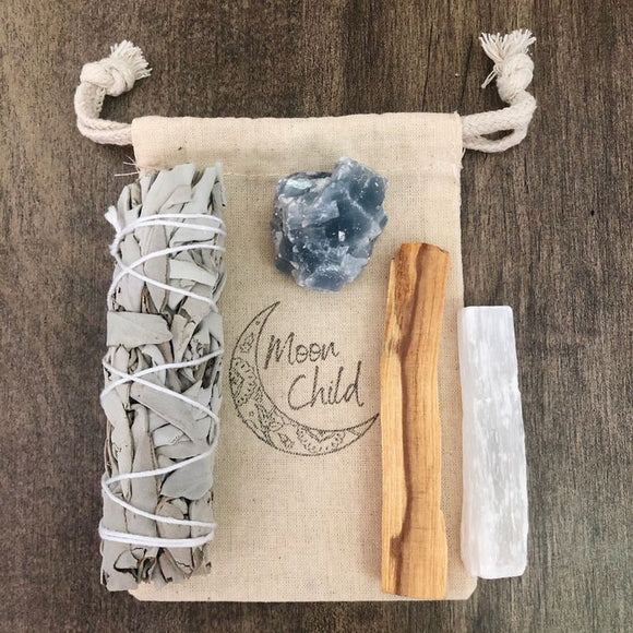 Emotional Protection & Astral Travel Smudging & Clearing Kit