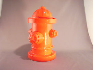 Open image in slideshow, Grubby Paws ceramic fire hydrant treat jar