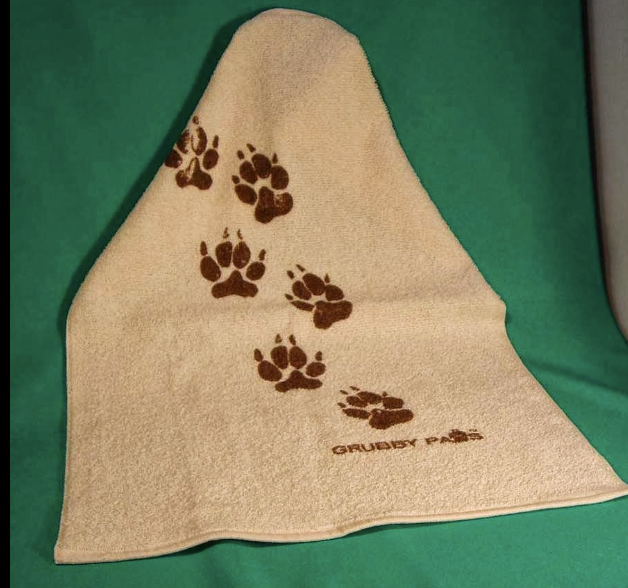 Canadian made cotton paw wipe towel