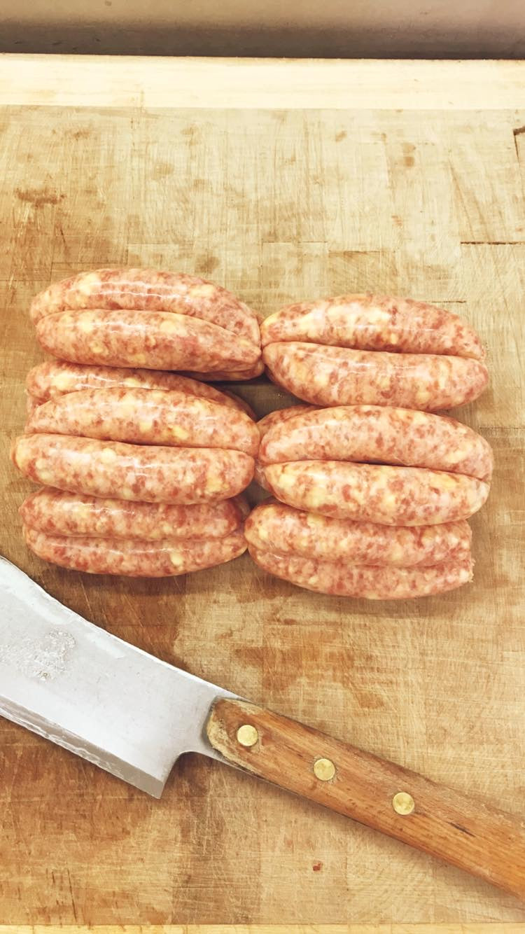 Pork & Mustard Sausages