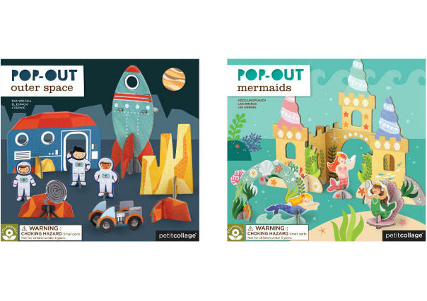Petit Collage Pop Out Sets