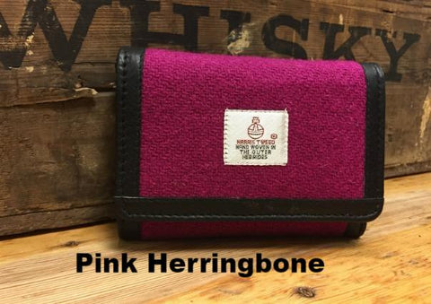 Harris Tweed Small Wallet Purse