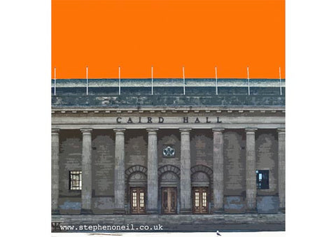 Caird Hall Print by Stephen O'Neil