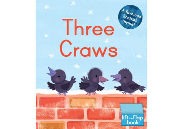 Quirky Coo three craws book - scottish gifts, dundee, perth, aberdeen