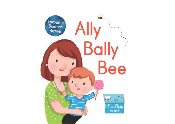 Quirky Coo ally bally bee book - scottish gifts, dundee, perth, aberdeen