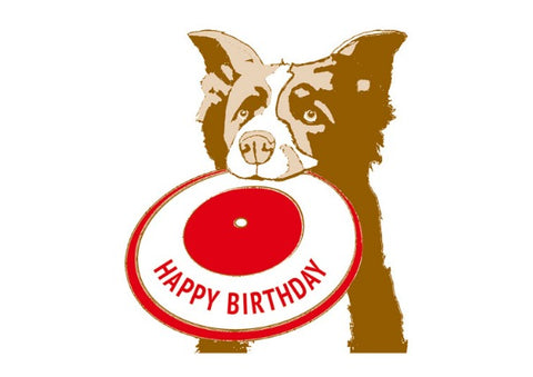 Fetch Doggie - Birthday Card