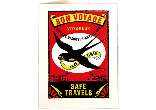 Bon Voyage/Leaving Card