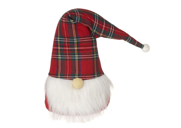 Santa with a Tartan Hat