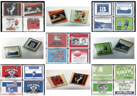 Scottish Football Club Coaster Set