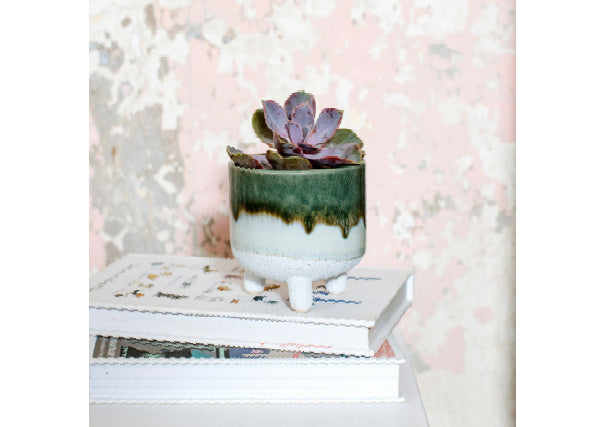 Mojave Glaze Planter by Sass & Belle