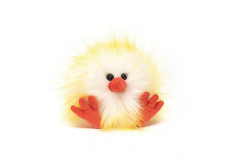 Jellycat Crazy Yellow Chick