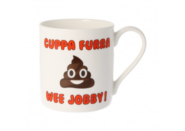 Jobby Mug - quirky coo, gifts, cards, mugs, dundee, perth, aberdeen