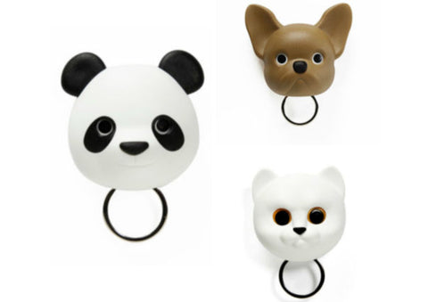 Animal Key Holders with Moving Eyes
