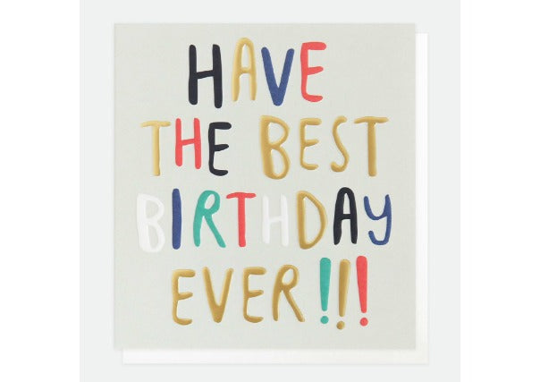 have the best birthday ever card - quirky coo, cards gifts perth dundee aberdeen