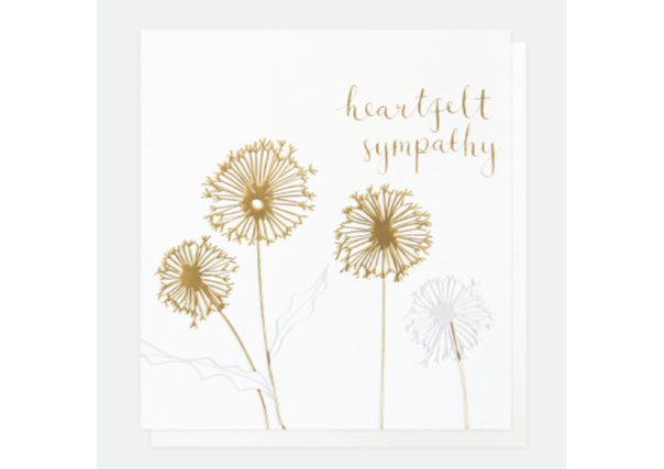 Deepest Sympathy card - quirky coo, gifts & cards, perth, dundee, aberdeen