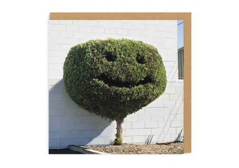 Happy Hedge Card by Ohh Deer
