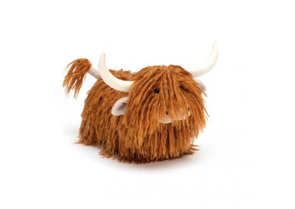 Quirky Coo charming highland cow jellycat cuddly toy - kids gifts, dundee, perth aberdeen