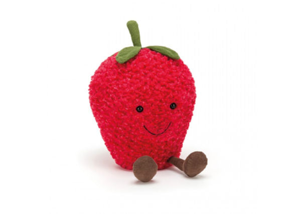 Quirky Coo jellycat strawberry cuddly toy - kids gifts, dundee, perth aberdeen