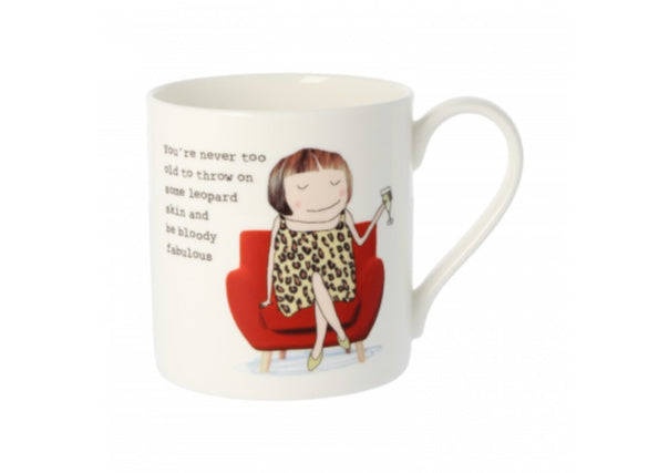 Leopardskin mug by Rosie Made A Thing - Quirky Coo, Gifts, Cards, Dundee, Perth, Aberdeen