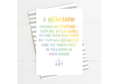 A New Baby Card