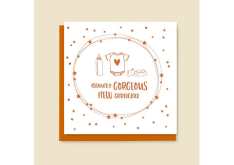 New Grandchild Card