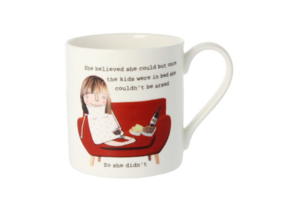 She believed she could mug by Rosie Made A Thing - Quirky Coo, Gifts, Cards, Dundee, Perth, Aberdeen
