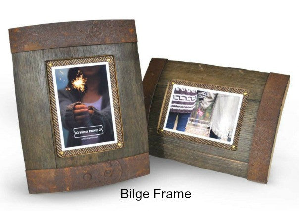Whisky Barrel picture frames, quirky coo, scottish gifts, perth, dundee