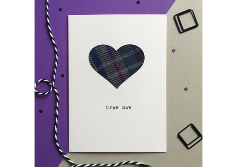Braw Maw Card by Hiya Pal