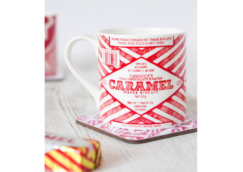 Gillian Kyle Tunnocks Caramel Wrapper Mug