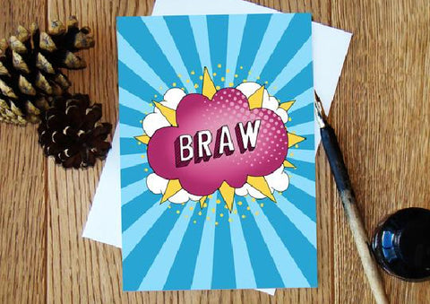 Braw - Congratulations Card