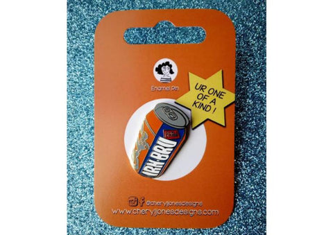 Irn Bru Enamel Pin Badge
