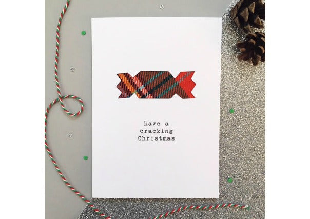 Cracking christmas card - scottish christmas cards, perth dundee