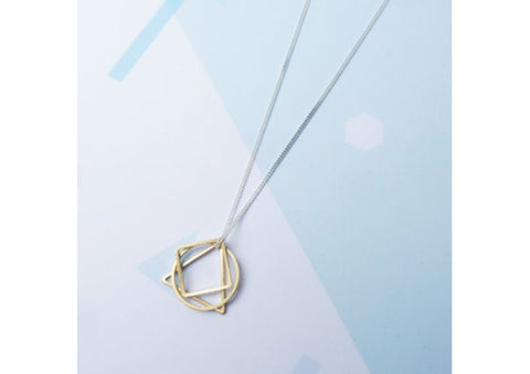 Shapes Necklace by Custom Made