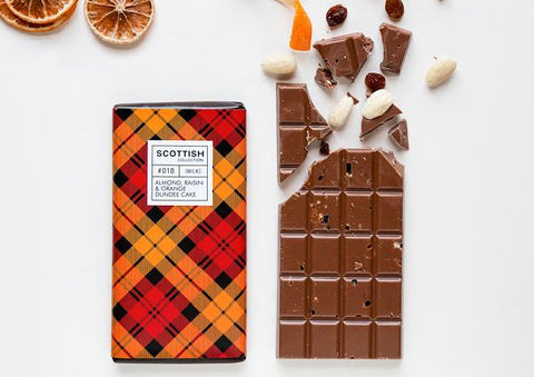 Dundee Cake Flavour Chocolate Bar