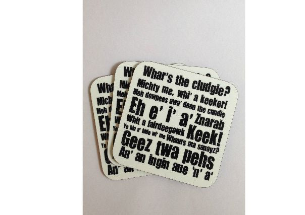 Dundonian Coaster, Dundee - Quirky Coo, Scottish gifts