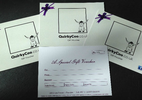 Quirky Coo Gift Vouchers