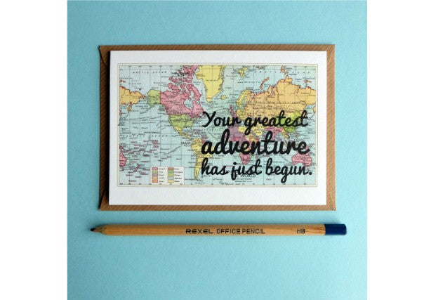Greatest Adventure Card - quirky gifts, dundee, perth