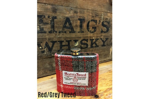 Harris Tweed Hipflask