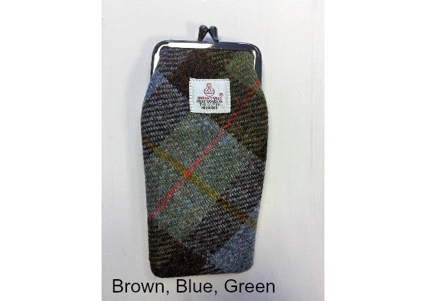 Harris Tweed spectacles case - quirky scottish gifts, perth dundee