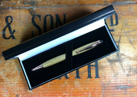 Slimline Whisky Cask Pen by The Highland Pen Company